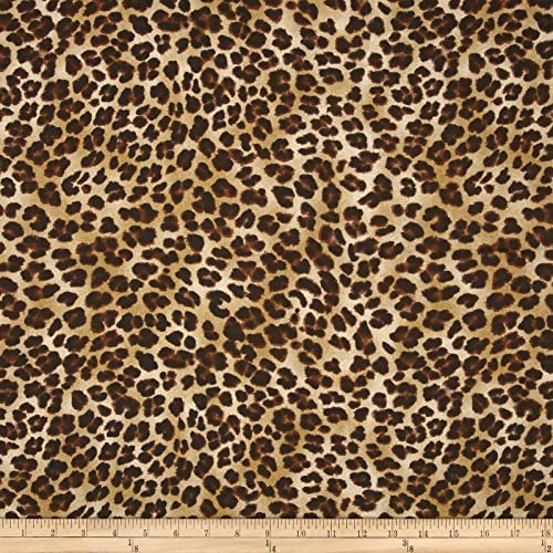 9c5d2ea9a9 Premier Prints 0362816 Amazon Leopard Sand Fabric by The Yard