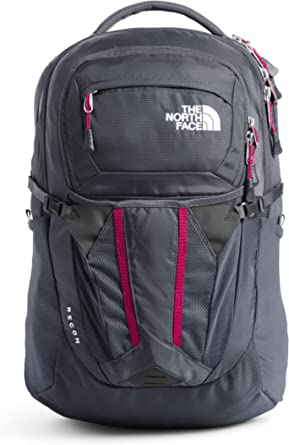 The North Face Women's Recon Backpack, Vanadis Grey/Dramatic Plum, One Size