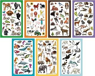 Koobar Animals of The World Sticker Variety Pack (300+ Stickers)