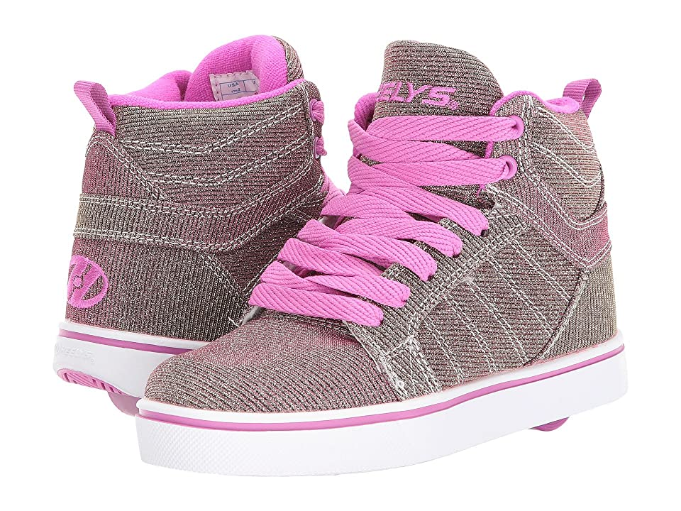 Heelys Uptown (Little Kid/Big Kid/Adult) (Gold/Purple Color Shift) Girls Shoes
