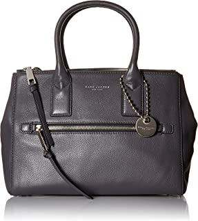 recruit east west pebbled leather tote