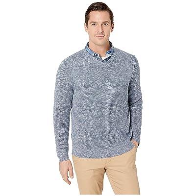 Tommy Bahama Isidro V-Neck Sweater (Blue Jean) Men