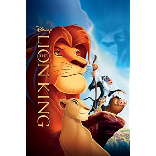 2 x THE LION KING Odeon A3 Posters from the Disney 2019 The Lion King Film