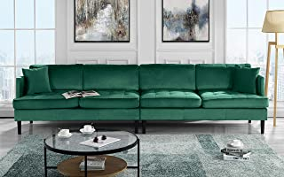 Amazon & Velvet - Green Sofas \u0026 Couches | Furniture | Home \u0026 Kitchen ...