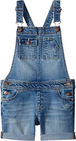 Lucky Brand Kids - Essie Denim Shortall in Christie Wash (Little Kids)