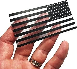 Reversed Thin Transparent American Flag Durable USA 3M Vinyl Decal 2