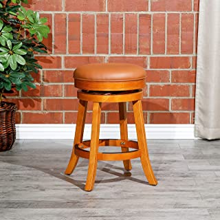 Best backless counter stools leather Reviews