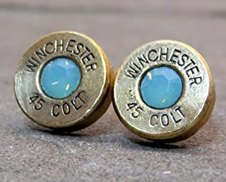 colt 45 bullet earrings