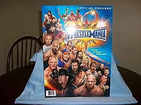 WWE WrestleMania 33 Event Program Magazine