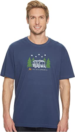 Life is Good - Five Star Accommodations Crusher Tee