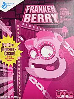 general mills monster themed breakfast cereals