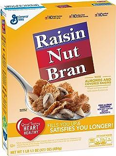 一般的なミルズ レーズンブラン シリアル ナット General Mills Raisin Nut Bran Cereal