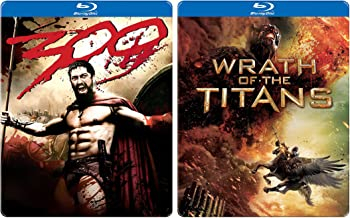 Wrath of the Titans + Frank Miller 300 Steelbook Fantasy Olympians Double Feature