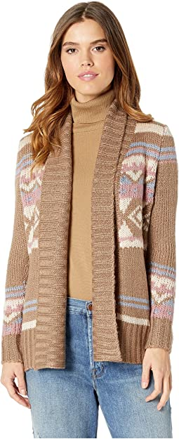Long Sleeve Open Heavy Cardigan