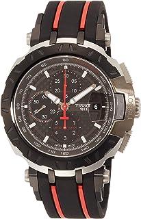 Tissot T-Race Black Dial Silicone Strap Men's Watch T0924272720100