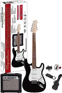 Spectrum AIL 278A Electric Guitar Pack, Black