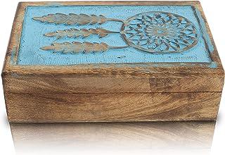 Great Birthday Gift Ideas Handmade Decorative Wooden Dream Catcher Jewelry Box Jewelry Organizer Keepsake Box Treasure Che...