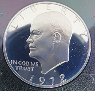 1972 S Eisenhower Proof Dollar Perfect Uncirculated