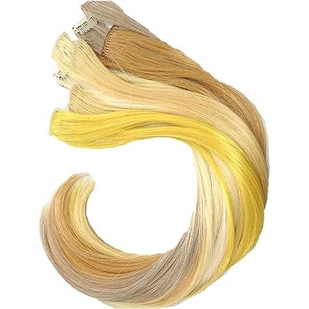 Blond braun gold strähnen Bob Frisuren