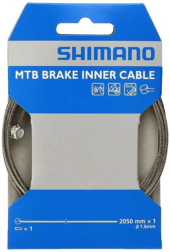 機構製作オリエンテーションシマノ(SHIMANO) MTB用SUS ブレーキインナーケーブル 2050mm×φ1.6mm Y80098210
