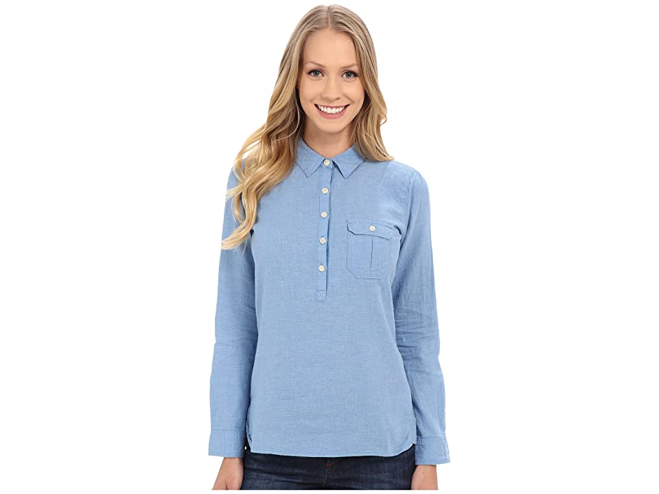 Outdoor Research Coralie L/S Shirt (Cornflower) Women's Long Sleeve Pullover