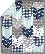 patchwork quilt nursery bedding