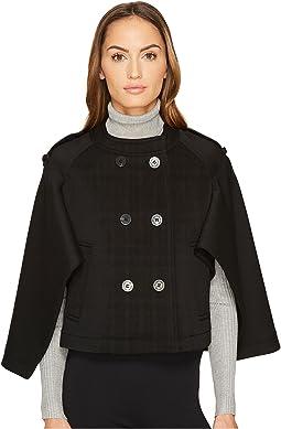 Oversized Cape Sleeve Jacket