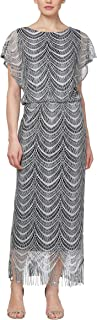 Women's Metallic Crochet Dress (Plus Size and Missy)