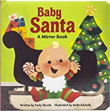 Baby Santa - Baby's First Look and Find Mirror Book - PI Kids