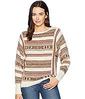 Linen Cotton Long Sleeve Sweater