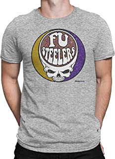 Rival Gear Baltimore Football Fan T-Shirt, FU Steelers Skull