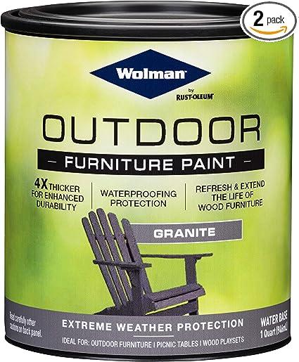 Wolman Outdoor Furniture Paint