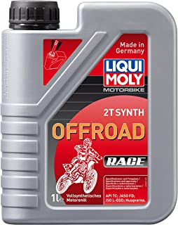 LIQUI MOLY 3063 Motorbike 2T Synth Offroad Race 1 l
