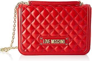 5b5b7d774 Love Moschino Women's Borsa Quilted Nappa Pu Cross-Body Bag