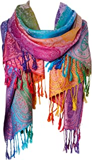 Fashion Women's Silk Scarf Luxury Satin Shawl Wraps