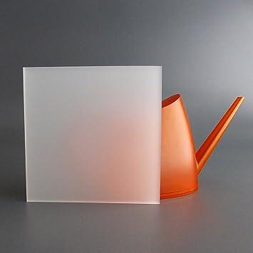 5mm, 400 x 400 mm lobotec-acryl PLEXIGLAS Zuschnitt Acrylglas Zuschnitt 3-10mm wei/ß satiniert Snow