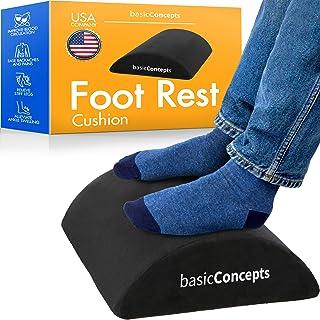 Foot Rest Under Desk (Soft, Firm Support), Ergonomic Under Desk Foot Rest for Office, Gaming or...