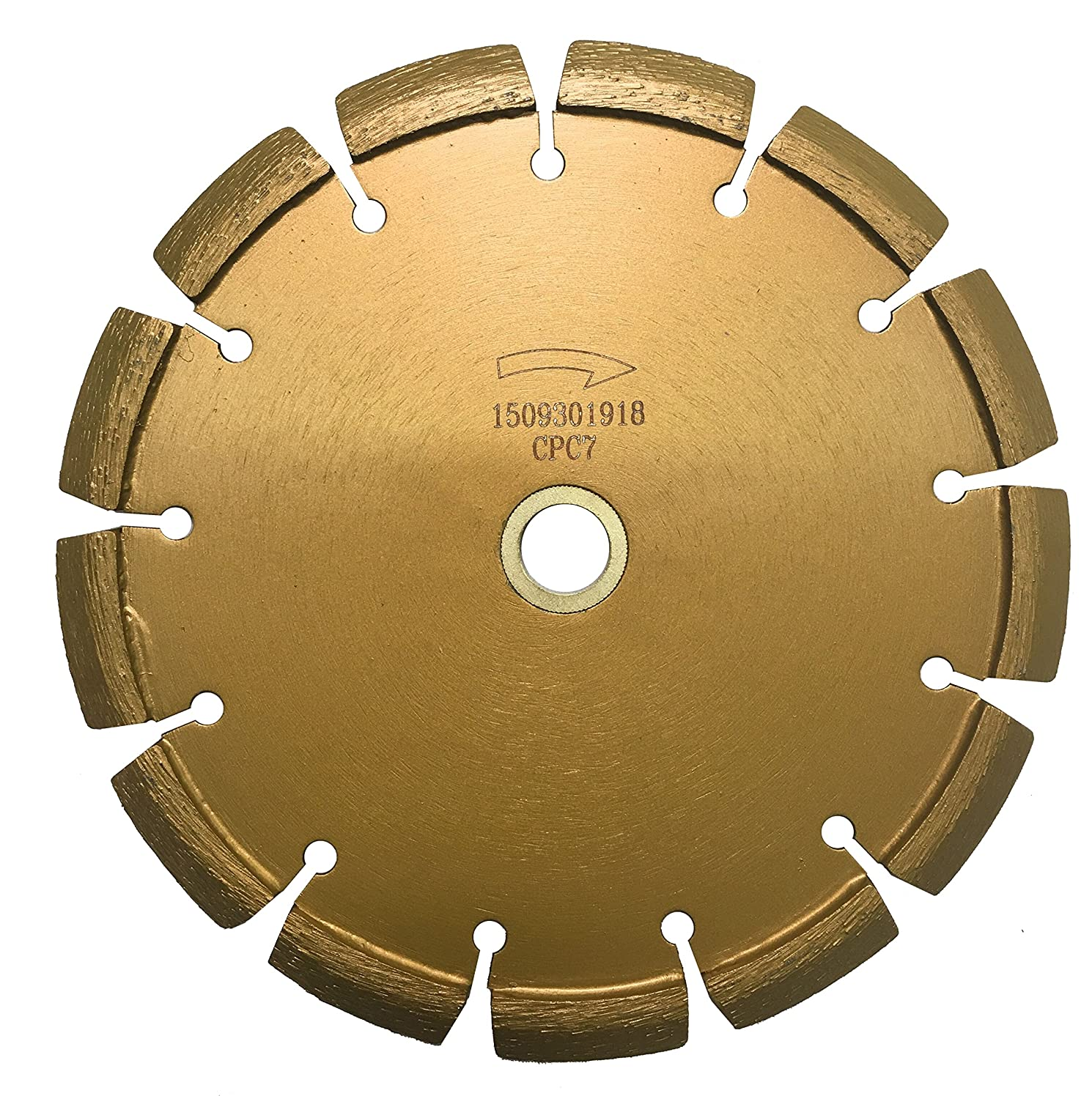 Whirlwind USA CPC 7 in. Laser Welded Premium Crack Chaser Tuck Point Blade for Concrete Asphalt (7