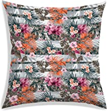 RADANYA Tropical Leaves Decorative Throw Pillow/Cushion Covers (18 x 18 inch)-Insert not Included
