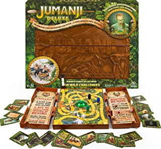 Spin Master Games 6061778 Jumanji Board Gme with Video Centrepiece for Families and Kids Aged Over 8