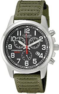 Watches AT0200-05E Eco-Drive Chronograph Canvas Watch