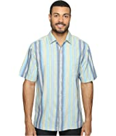 Tommy Bahama - Cabo Frio Stripe Short Sleeve Woven Shirt