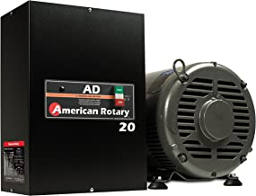 Rotary Phase Converter AD20 – 20 HP Digital Controls Heavy Duty HD CNC USA Made