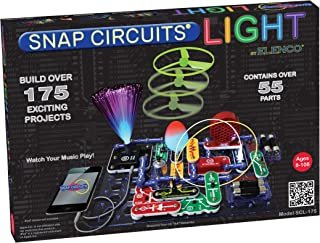 Elenco SCL-175 Snap Circuits Lights Electronics Discovery Kit