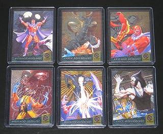 1994 Fleer Ultra X-Men Fatal Attractions Insert Set of 6 Cards NM/M Marvel