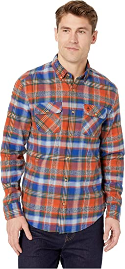 Long Sleeve Twisted Yarn Flannel