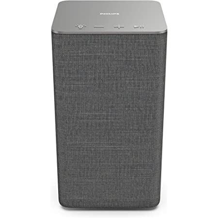 Philips W6205/10 Wi-Fi Altavoz Multiroom Inalámbrico para Casa (40 W, Compatible con DTS Play-Fi, Se Conecta con Asistentes de Voz, LED Integrado, Ambilight, Sonido Estéreo) - Modelo 2020/2021
