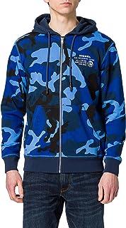 Diesel Men's Umlt-brandon-z Hooded Sweatshirt