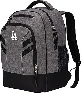 "MLB Los Angeles Dodgers ""Razor"" Backpack, Grey, 19 x 8 x 12"