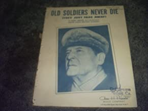 Old Soldiers Never Die They Just Fade Away Sheet Music (DOUGLAS MACARTHUR)
